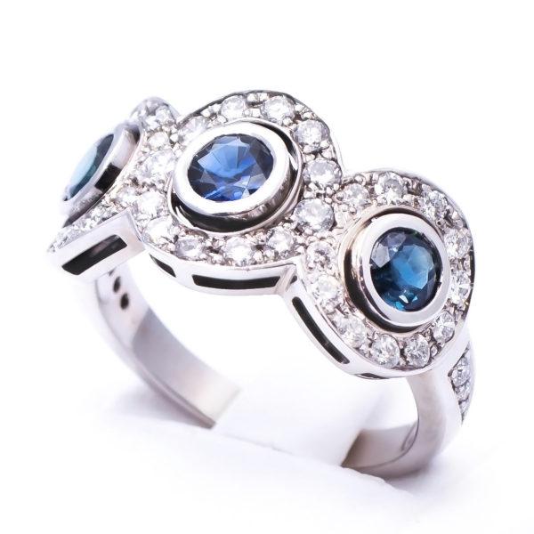 Plavi safiri – Zlatni prsten