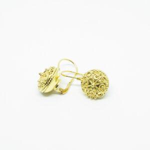 Naušnice-zlatni botuni