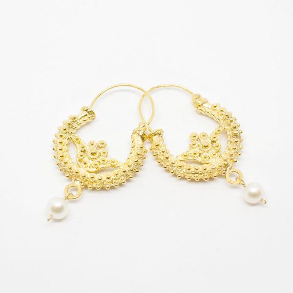 gold-plated-split-earrings
